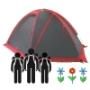 3-х местные палатки