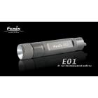 Фонарь Fenix E01 черный с батарейкой