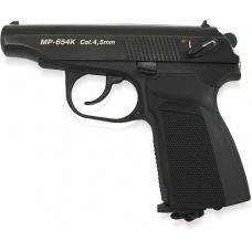 Многозарядный газобаллонный пистолет МР-654К в кейсе, черный