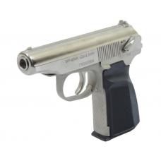 Многозарядный газобаллонный пистолет МР-654К в кейсе, никель