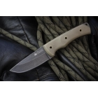 Нож Kizlyar Supreme KiD 440C Stone Wash, G10