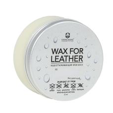 Водоотталкивающий крем-воск Nanomax Wax for Leather 75мл, бесцветный