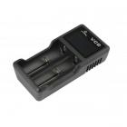 Зарядное устройство XTAR VC2 + адаптер 220 В. 1 Ампер