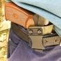 Кобура для ПМ (пистолет Макарова) для скрытого ношения, зеленый