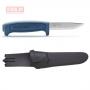 Нож Morakniv Basic 546, нержавеющая сталь, синий, 12241