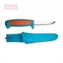 Нож Morakniv Basic 511 углеродистая сталь, пласт. ручка, синий 13152