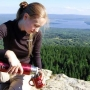 Термос с узким горлом, классический, Арктика 102-1000 (красный)