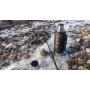Термос с узким горлом,американский дизайн Арктика 106-2200P (черный)