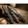 Автоматический нож Boker 01BO401 Strike Tanto All Black