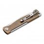 Нож Boker 01BO853 Atlas Brass