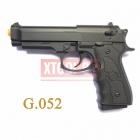 Cтрайкбольный пружинный пистолет Galaxy G.052B, Beretta 92, черный, пластик