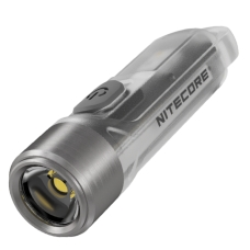 Мощный мини-фонарик Nitecore TIKI, прозрачный