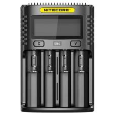 Четырехканальное зарядное устройство Nitecore UM4
