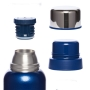 Термос с узким горлом,американский дизайн Арктика 106-1200 (синий)