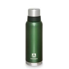 Термос с узким горлом,американский дизайн Арктика 106-1200 (зеленый)
