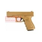 Страйкбольный пистолет Galaxy G.15D Glock металлический, пружинный, Глок