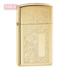 Зажигалка ZIPPO Slim® Brass Venetian®