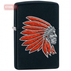 Зажигалка ZIPPO 218 Indian Head Special Edition