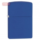 Зажигалка ZIPPO Classic Royal Blue Matte