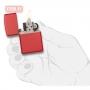 Зажигалка ZIPPO Classic Matte Red