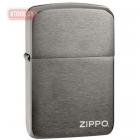 Зажигалка ZIPPO Black Ice® 1941 Replica with Zippo logo