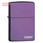 Зажигалка ZIPPO High Polish Purple Zippo Logo