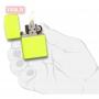 Зажигалка ZIPPO Neon Yellow