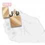 Зажигалка ZIPPO Diagonal Weave Brass