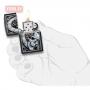 Зажигалка ZIPPO Skull Clock Design