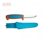 Нож Morakniv Basic 546, нержавеющая сталь, пласт. ручка, оранжевый 13202
