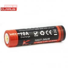 Аккумулятор Klarus 18GT-LT36UR 3600 mAh (+USB порт зарядки)