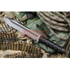 Нож Kizlyar Supreme Survivalist Z AUS-8 Gray Titanium Serrated