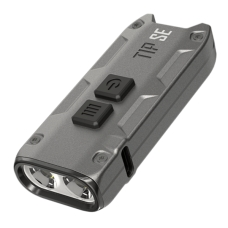 Мощный наключный фонарь Nitecore TIP SE, серый