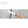 Нож Opinel №6, нержавеющая сталь, рукоять из бука
