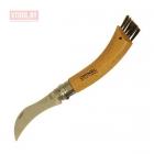 Нож грибника Opinel №8, нержавеющая сталь, рукоять бук, коробка