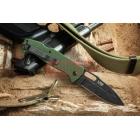 Нож Kizlyar Supreme Ute 440C StoneWash Green G10