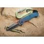 Нож Kizlyar Supreme Ute 440C StoneWash Gray G10