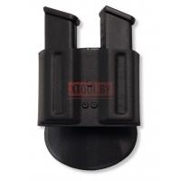 Паучер двойной пластиковый быстросъемный (Размер №4) Вектор, Glock 17.