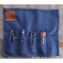 Сумка для ножей Bag-Five синяя – Mr.Blade