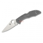 Нож Spyderco Delica 4 Серый C11FPGY