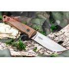 Нож Nikki AUS-8 StoneWash Whalnut