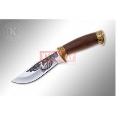 Нож Кизляр «Дрофа». Художественно оформленный, латунь