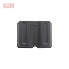 Паучер Stich Profi двойной пластиковый с поясным креплением (Размер №4) Вектор, Glock 17