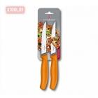 Нож для стейка и пиццы Victorinox Swiss Classic Gourmet 6.7936.12L9B с рифленным лезвием