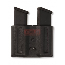 Паучер двойной пластиковый с поясным креплением (Размер №4) Вектор, Glock 17.