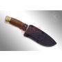 Нож Кизляр «Глухарь».Художественно оформленный, латунь