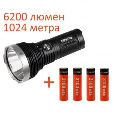 Acebeam K65 NW + 4 аккумулятора 3100 mAh