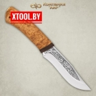 Нож АиР Клычок-3 (карельская береза)
