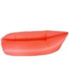 Ламзак, лежак надувной Fora (оранжевый)