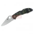 Нож Spyderco Delica 4 C11ZFPGR Zome Green FRN